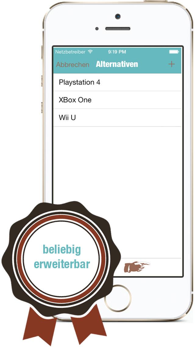 Alternatives2 DE iPhone